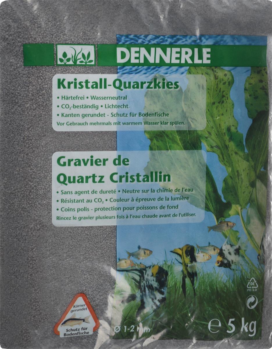 Грунт для аквариума Dennerle Kristall-Quarz, натуральный, цвет: темно-серый, 1-2 мм, 5 кгDEN1748Натуральный грунт Dennerle Kristall-Quarz предназначен специально для оформления аквариумов. Изделие готово к применению.Натуральный гравий имеет округлую форму зерна, поэтому он безопасен для донных рыб.Гравий является светостойким, он устойчив к CO2, нейтрален к воде..Грунт  Dennerle  порадует начинающих любителей природы и самых придирчивых дизайнеров, стремящихся к созданию нового, оригинального. Такая декорация придутся по вкусу и обитателям аквариумов и террариумов, которые ещё больше приблизятся к природной среде обитания.Фракция: 1-2 мм.Объем: 5 кг.
