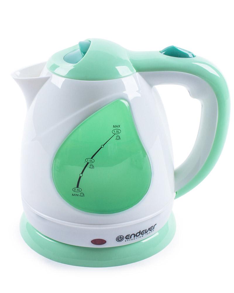 Endever KR-349 электрический чайникKR-349Endever KR-349 - это мощная (2100 Вт) модель большого объема (1,5 л). С помощью этого чайника вы сможете приготовить чай на большую компанию за считанные минуты. Вращающийся корпус сделает использование чайника еще более удобным.