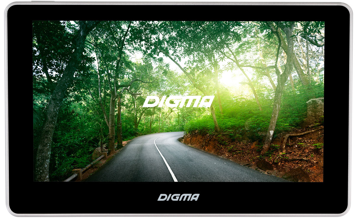 Digma Alldrive 700, Black GPS навигатор планшет digma plane 1601 3g ps1060mg black