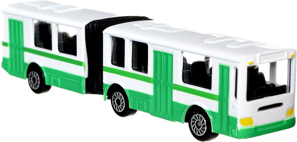 ТехноПарк Автобус цвет зеленый белый спот ★ импортированные голубой автобус автобус автобус автомобиль тайо игрушка тянуть обратно автомобиль корея продукты