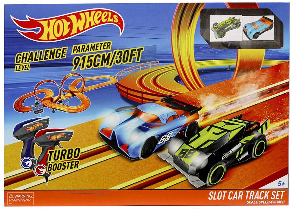 Kidztech Гоночный трек Hot Wheels 915 см hot wheels dhy27 трасса для разделяющих гонщиков split speeders blade raid