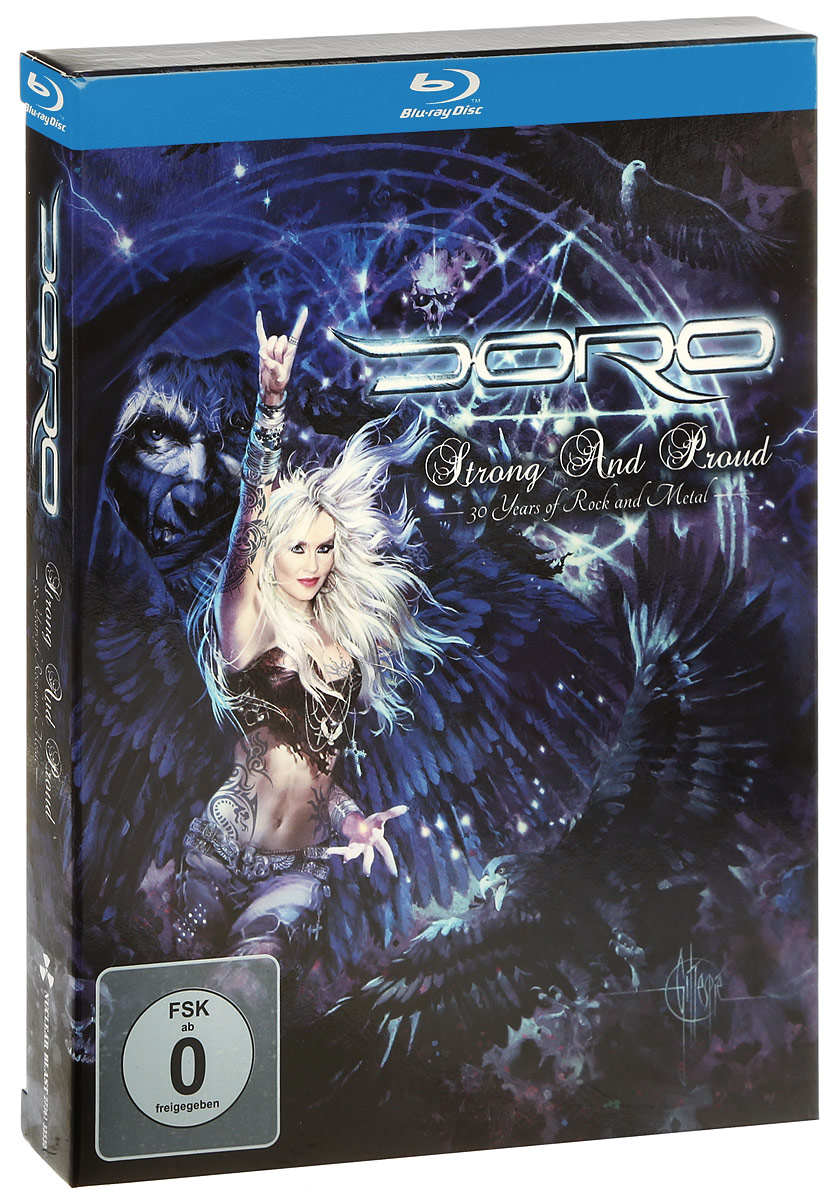 Doro: Strong And Proud: 30 Years Of Rock And Metal (2 Blu-ray) 3d blu ray плеер samsung bd j7500