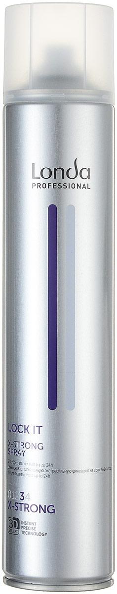 LC СТАЙЛИНГ Лак NEW д/волос экстрасильной фиксац.LOCK IT 500 мл0990-81545252Профессиональный быстросохнущий лак Londa Lock с микрополимерами 3D-Sculpt предназначен для моментальной и долговременной фиксации. Содержит пантенол для увлажнения волос. Характеристики:Объем: 500 мл. Производитель: Германия. Товар сертифицирован.