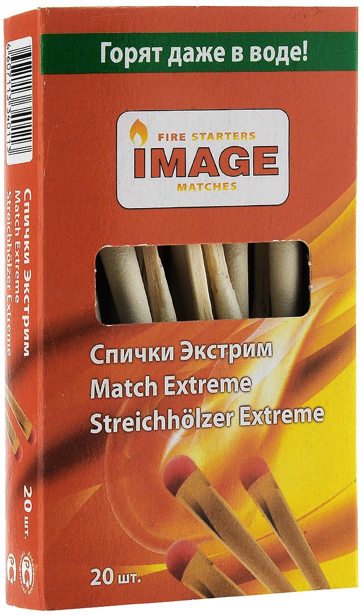 """Спички охотничьи Image """"Экстрим"""", длина 9 см, 20 шт"""