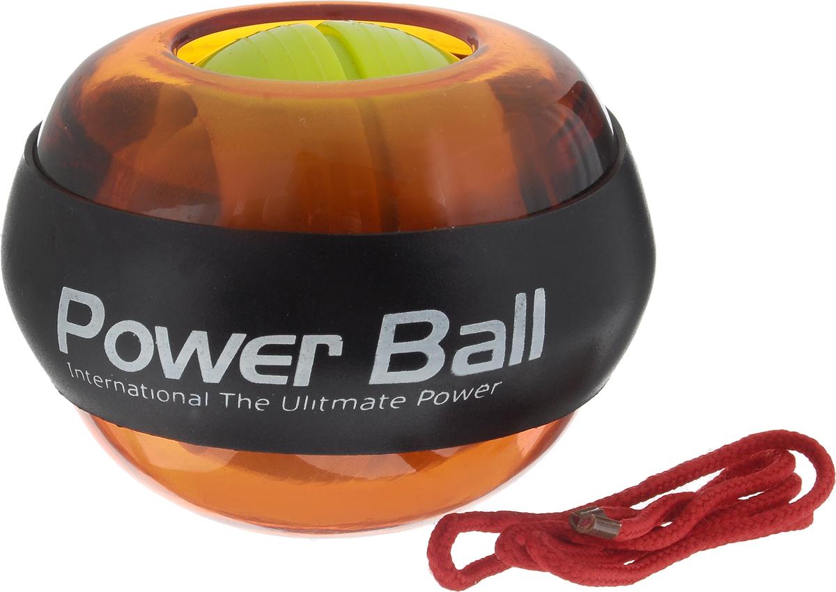 Эспандер кистевой Lite Weights Power Ball, цвет в ассортименте, 8 х 8 х 5,5 смHG3238Эспандер Lite Weights Power Ball изготовлен изпластика и выполнен в форме шара с резиновойвставкой. Представляет собой небольшой спортивныйснаряд, с помощью которого можно развиватьмышцы кисти и запястья. Принцип занятий с эспандеромзаключается в применении силы против его эластичностиили упругости. На сегодняшний день гироскопический эспандер PowerBall не имеет аналогов. Принцип его работы прост - чемвыше скорость раскручивания вашего шара, тембольше нагрузка на руку. Изделие легко помещается владони, таким образом, эспандер компактен и удобендля коротких тренировок в любое удобное время.Для запуска и работы необходим лишь обычный шнурок(входит в комплект). Намотайте его на ось, резкимдвижением потяните за него и ротор уже получилначальное ускорение. Дальше плавными движениямикисти медленно вращайте шар, постепенно ускоряядвижение. С гироскопическим эспандером LiteWeights Power Ball вы будете получать удовольствие оттренировок! Имеется инструкция по эксплуатации нарусском языке. Размер эспандера: 8 х 8 х 5,5 см.Длина шнура: 42 см.Уважаемые клиенты!Товар поставляется в цветовом ассортименте. Поставка осуществляется в зависимости от наличия на складе.