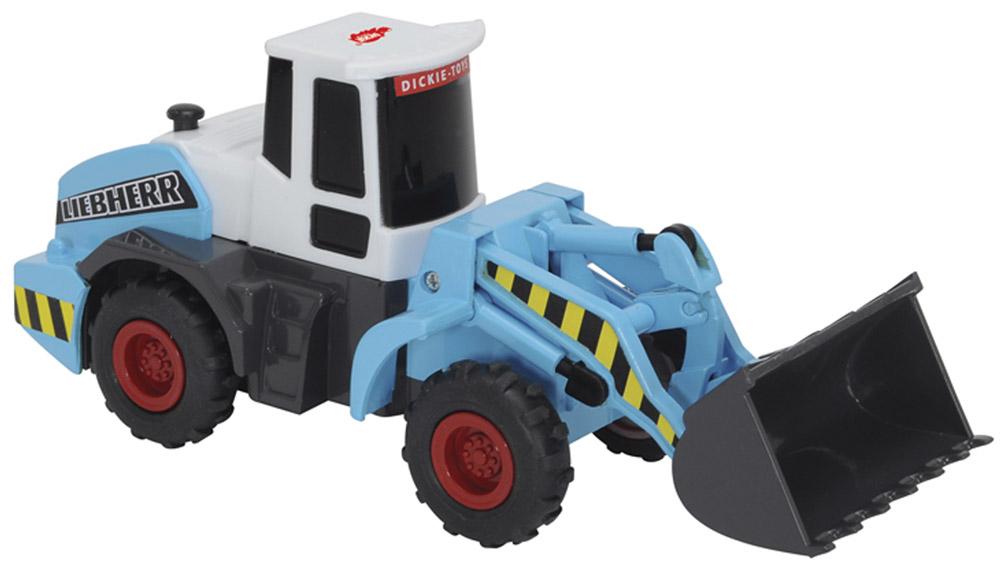 машинки dickie грузовик с подъемным механизмом airpump 29см Dickie Toys Погрузчик Power Worker