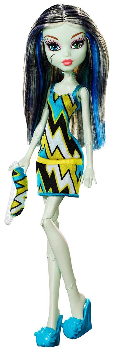 Monster High Кукла Пижамная вечеринка Фрэнки Штейн mattel кукла фрэнки штейн в модном наряде monster high