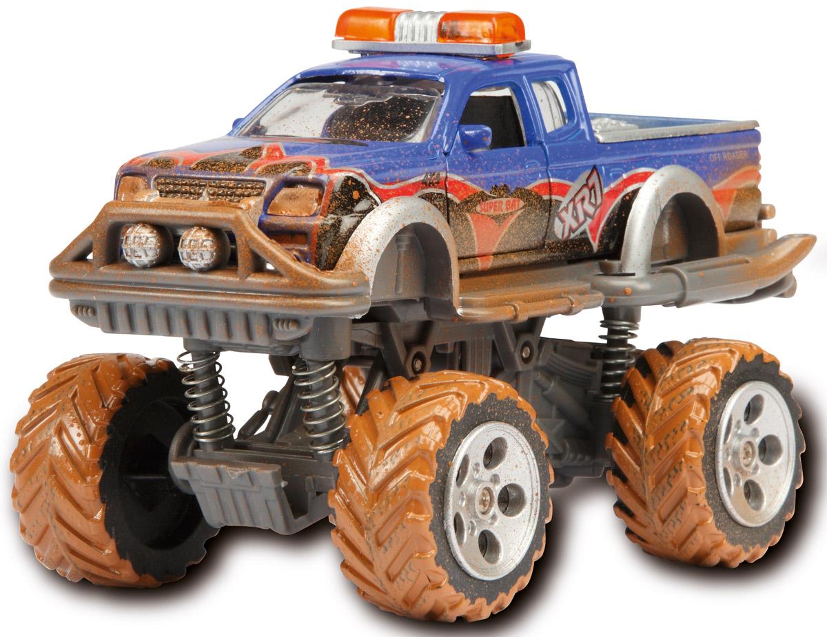 Dickie Toys Внедорожник Rally Monster цвет синий забавные машинки dickie с заводным механизмом