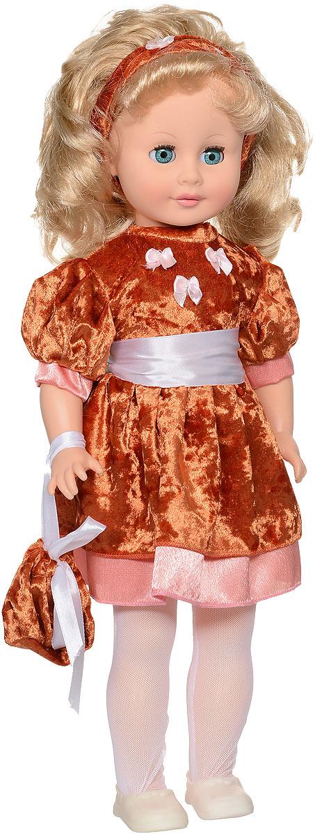 Весна Кукла озвученная Людмила цвет платья темно-оранжевый кукла весна людмила 9 озвученная