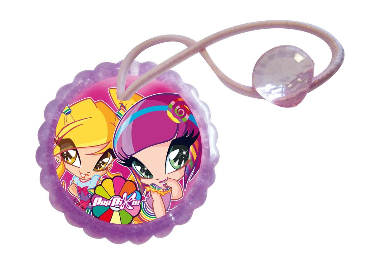 Резинка для волос для девочек PopPixie, цвет: розовый, 2 шт. 41322 ножницы школьные 133 мм poppixie pp16 sci13