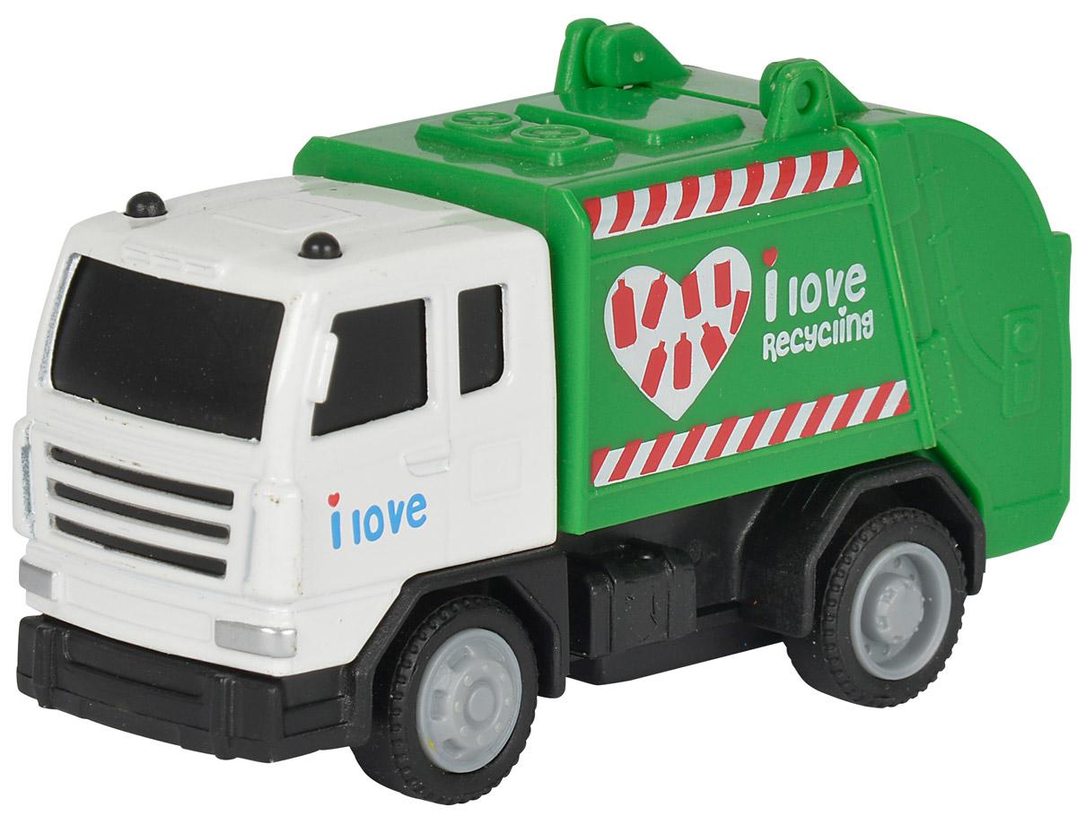 Dickie Toys Мусоровоз City Crew dickie мусоровоз 30 см