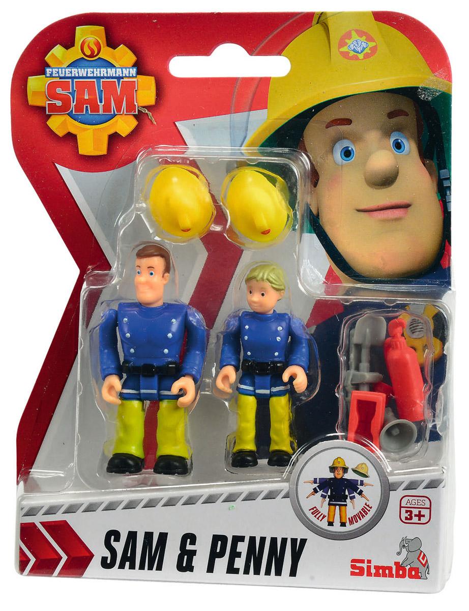 Simba Набор фигурок Sam & Penny фигурки игрушки simba пожарный сэм фигурки 7 5см 3в 24 96