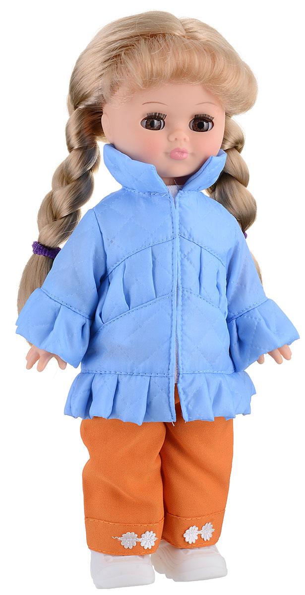 Весна Кукла озвученная Олеся цвет одежды голубой оранжевый куклы и одежда для кукол весна кукла олеся 8 озвученная 35 см