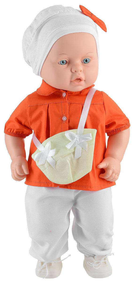 Весна Пупс Влада цвет одежды оранжевый белый белые женские ботиночки
