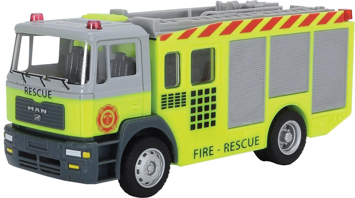 Dickie Toys Пожарная машинка Fire Fighter цвет салатовый viking toys пожарная машина джамбо 28 см