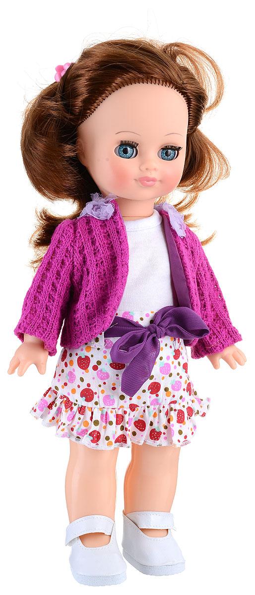 Весна Кукла озвученная Элла цвет одежды белый сиреневый куклы и одежда для кукол весна кукла элла 2 озвученная 35 см