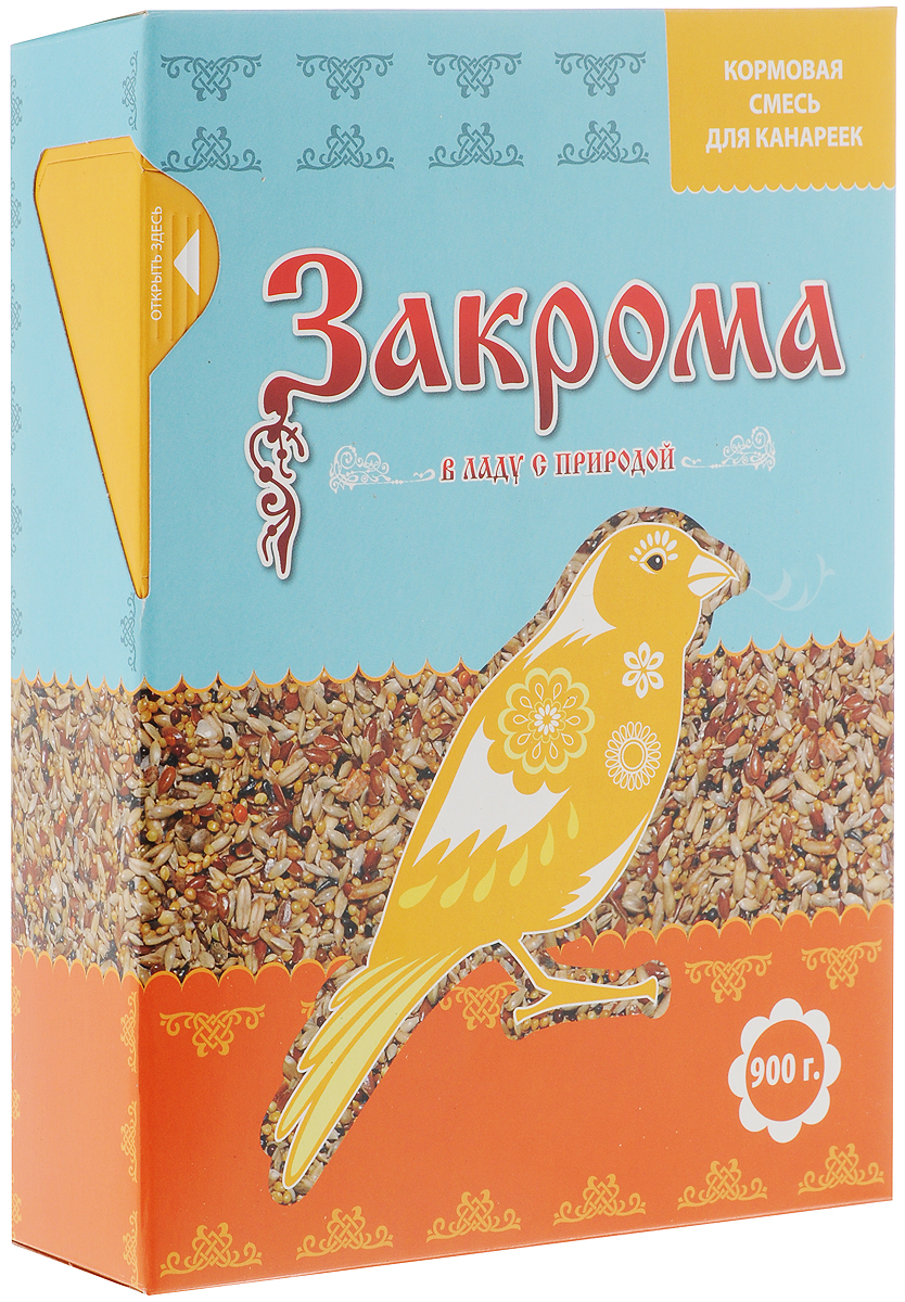 Корм для канареек Закрома, 900 г спб корм корм для щенка бенто кронен