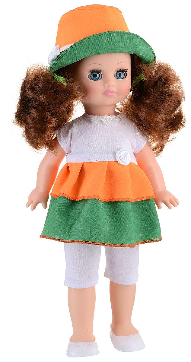 Весна Кукла озвученная Герда цвет одежды оранжевый зеленый белый кукла весна герда