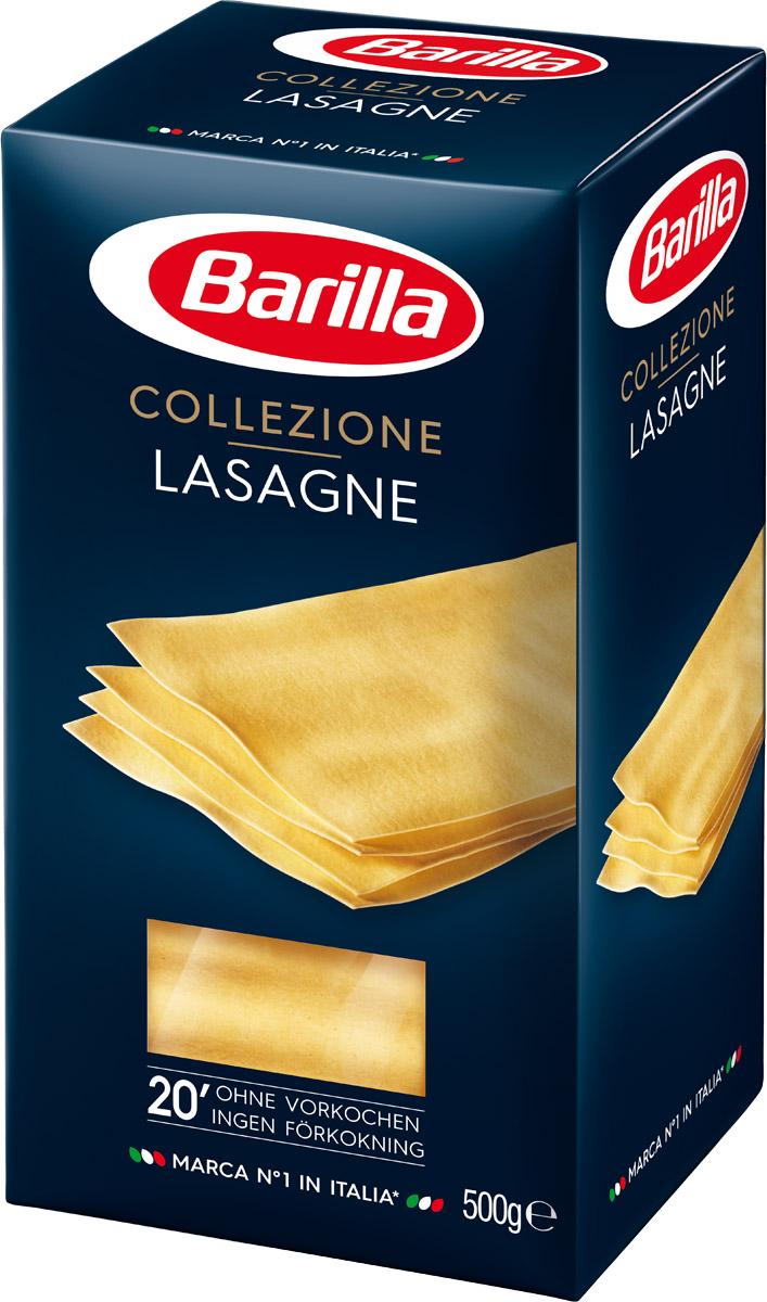 Barilla Lasagne Bolognesi лазанья, 500 г8076809523738Прямоугольные листы Лазаньи нарезаются из теста, раскатанного так тонко, что его текстура позволяет соусу равномерно распределиться по всей поверхности и в полной мере раскрыть вкус всех его ингредиентов.Болонья - город на севере Италии, который славится своим гостеприимством и разнообразием кулинарных традиций. Лазанья Болоньезе наилучшим образом отражает всю суть этого города и всю его страсть.Способ приготовления:Не требует предварительного отваривания;Выложите листы лазаньи на противень, чередуя их с соусом;Запекайте в духовке 20 минут.Уважаемые клиенты! Обращаем ваше внимание на то, что упаковка может иметь несколько видов дизайна. Поставка осуществляется в зависимости от наличия на складе.Лайфхаки по варке круп и пасты. Статья OZON Гид