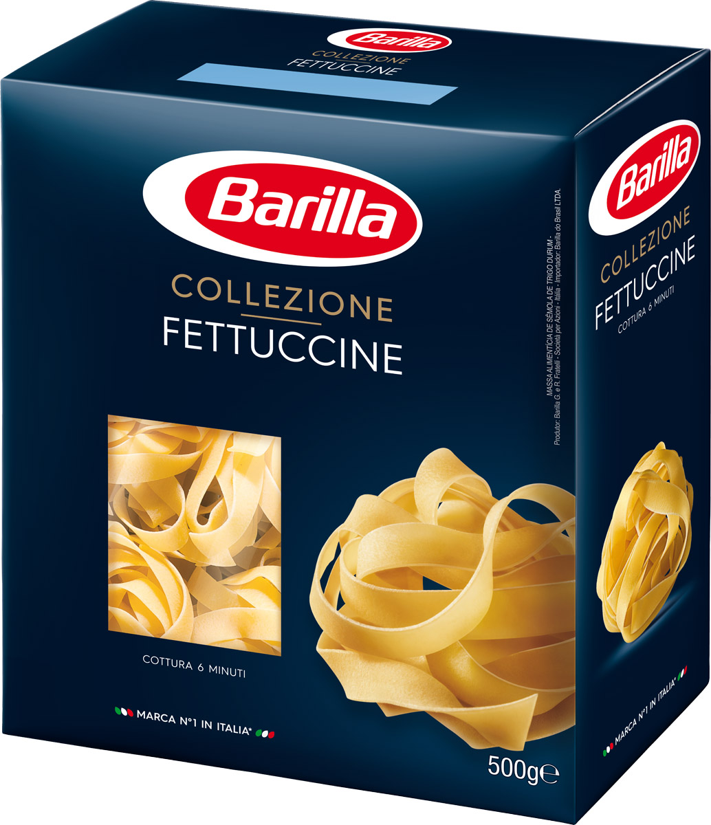 Barilla Fettuccine паста феттучине, 500 г romeo rossi паста яичная 4 яйца ригатони трехцветная 500 г