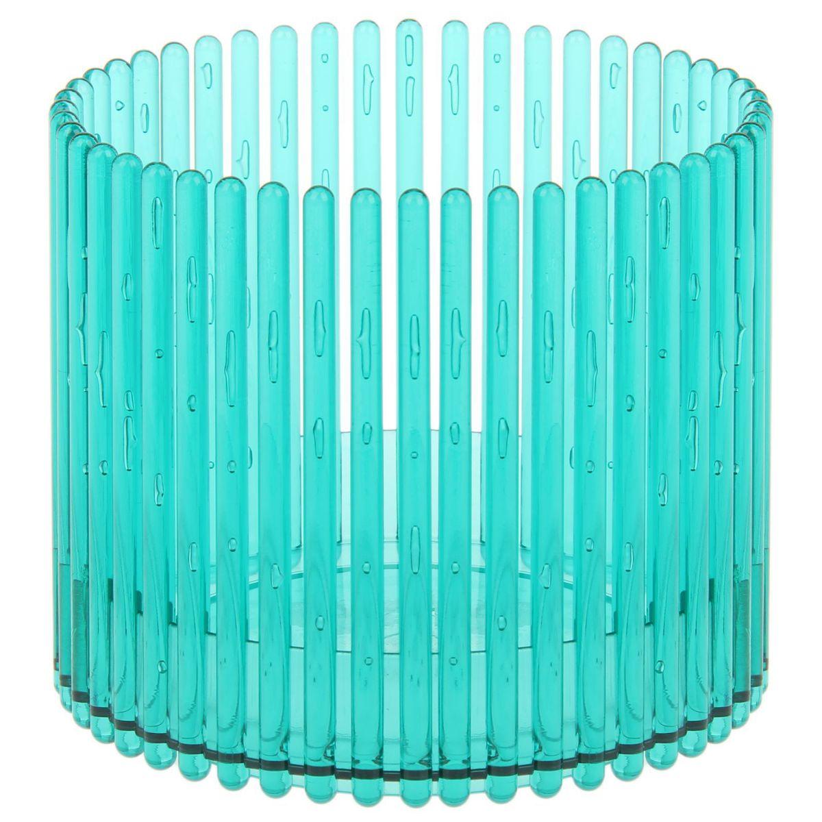 Кашпо JetPlast Шарм, цвет: зеленый, 14 x 12 см4612754051106Кашпо Шарм изготовлено из поликарбоната. Изделие имеет уникальную конструкцию: бортик в нижней части кашпо дает возможность создания у корней орхидеи благоприятную влажность, а сквозная конструкция стенок кашпо дает возможность беспрепятственному проникновению света на корни растения и их вентиляцию. Стильный яркий дизайн сделает такое кашпо отличным дополнением интерьера.