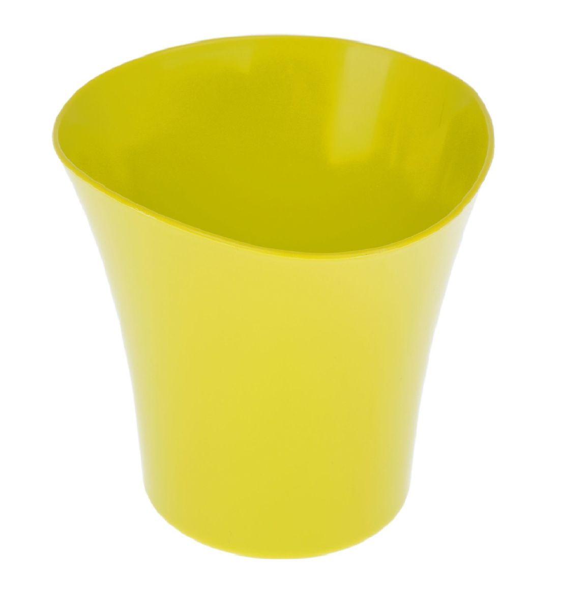 Кашпо JetPlast Волна, цвет: фисташковый, 1,5 л4612754051908Кашпо Волна имеет уникальную форму, сочетающуюся как с классическим, так и с современным дизайном интерьера. Оно изготовлено из прочного полипропилена (пластика) и предназначено для выращивания растений, цветов и трав в домашних условиях. Такое кашпо порадует вас функциональностью, а благодаря лаконичному дизайну впишется в любой интерьер помещения. Объем кашпо: 1,5 л.