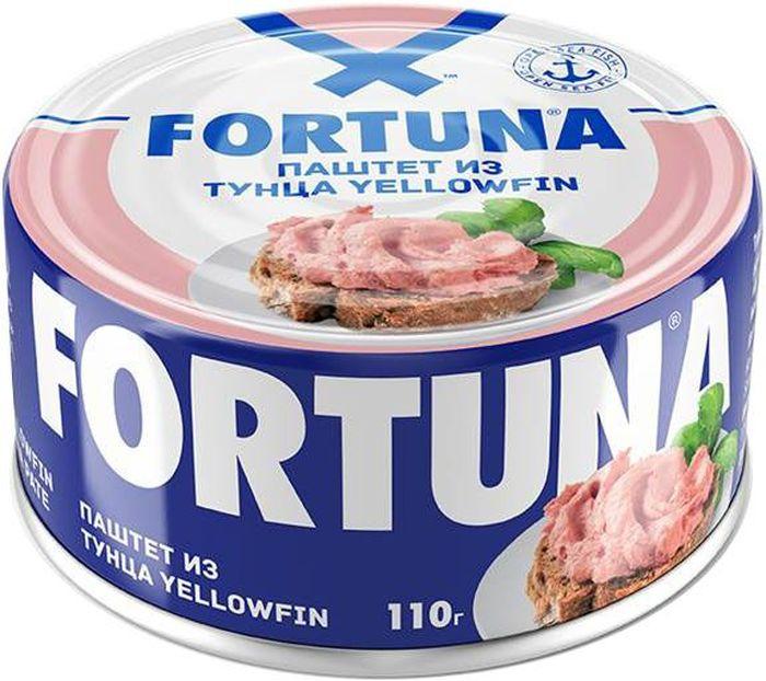 Fortuna паштет из тунца, 110 г26501Консервы рыбные стерилизованные.