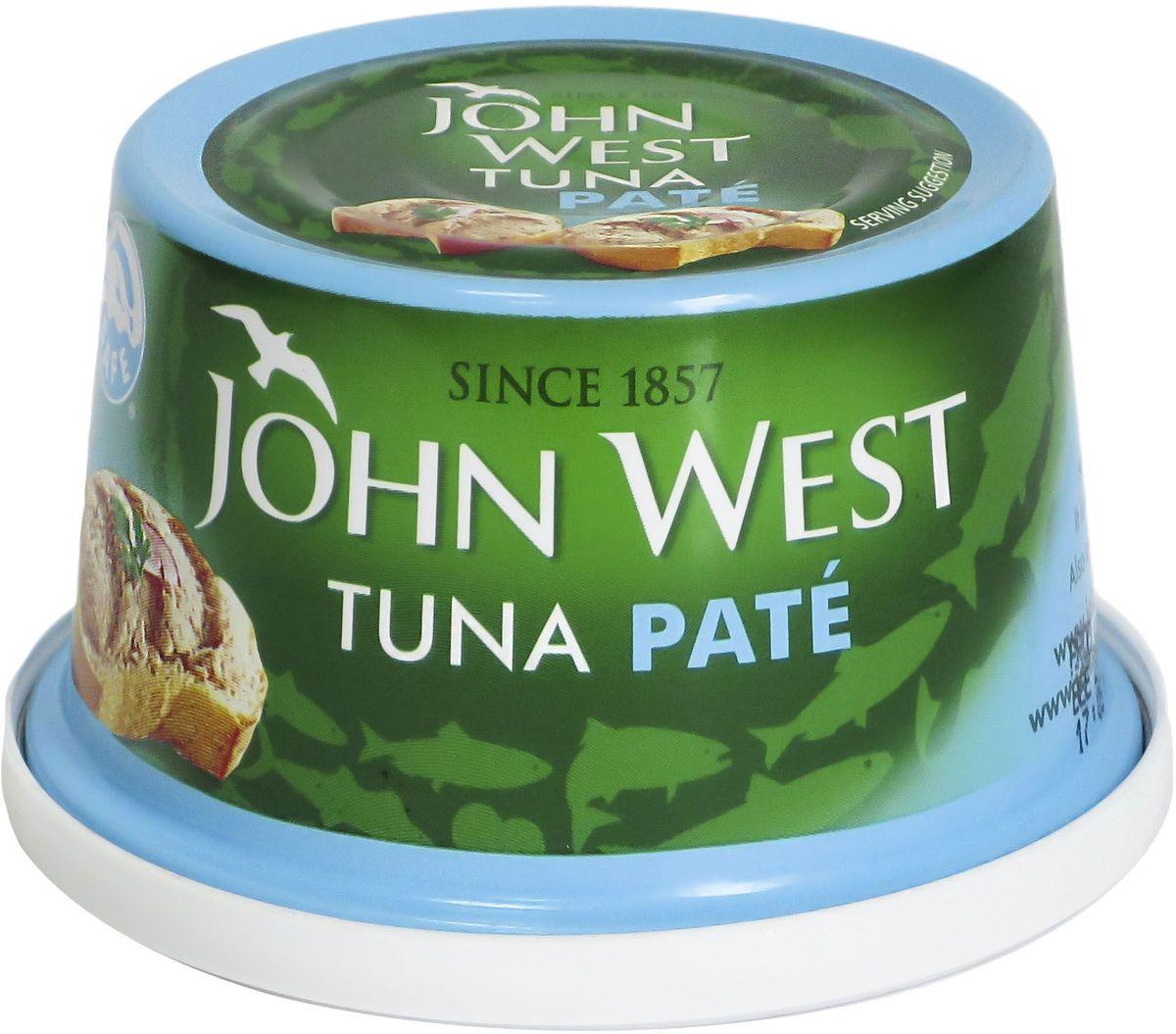 John West паштет из тунца, 125 г паштет carnex с черносливом 95г