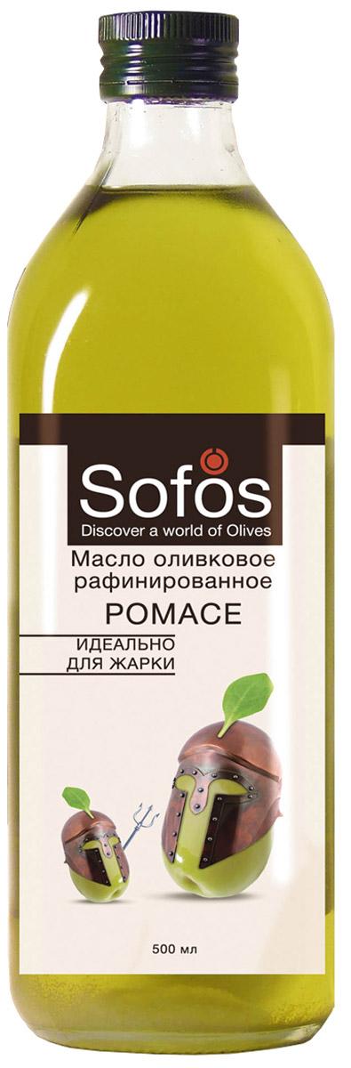 Sofos Pomace масло оливковое рафинированное идеально для жарки, 500 мл601813032460004Масло Sofos Pomace - оптимально для жарки, выпекания и фритюра. Рекомендовано любителям блюд с аппетитной корочкой. Оливковое масло Pomace - продукт, не образующий опасных веществ при жарке: - Специальное рафинированное масло с добавлением Extra Virgin. - Обладает нейтральным вкусом и запахом, содержит полезные полезные элементы. - Стойкое к нагреванию благодаря повышенному содержанию олеиновой и полинасыщенных жирных кислот. - При термообработке продуктов подчёркивает их природный вкус, образуя корочку с хрустом. Sofos Pomace - жарка и выпечка с пользой и ярким вкусом.Оливковое масло имеет всемирную известность за присущие ему вкусовые качества, приятный аромат. При низких температурах возможна естественная кристаллизация.Масла для здорового питания: мнение диетолога. Статья OZON Гид