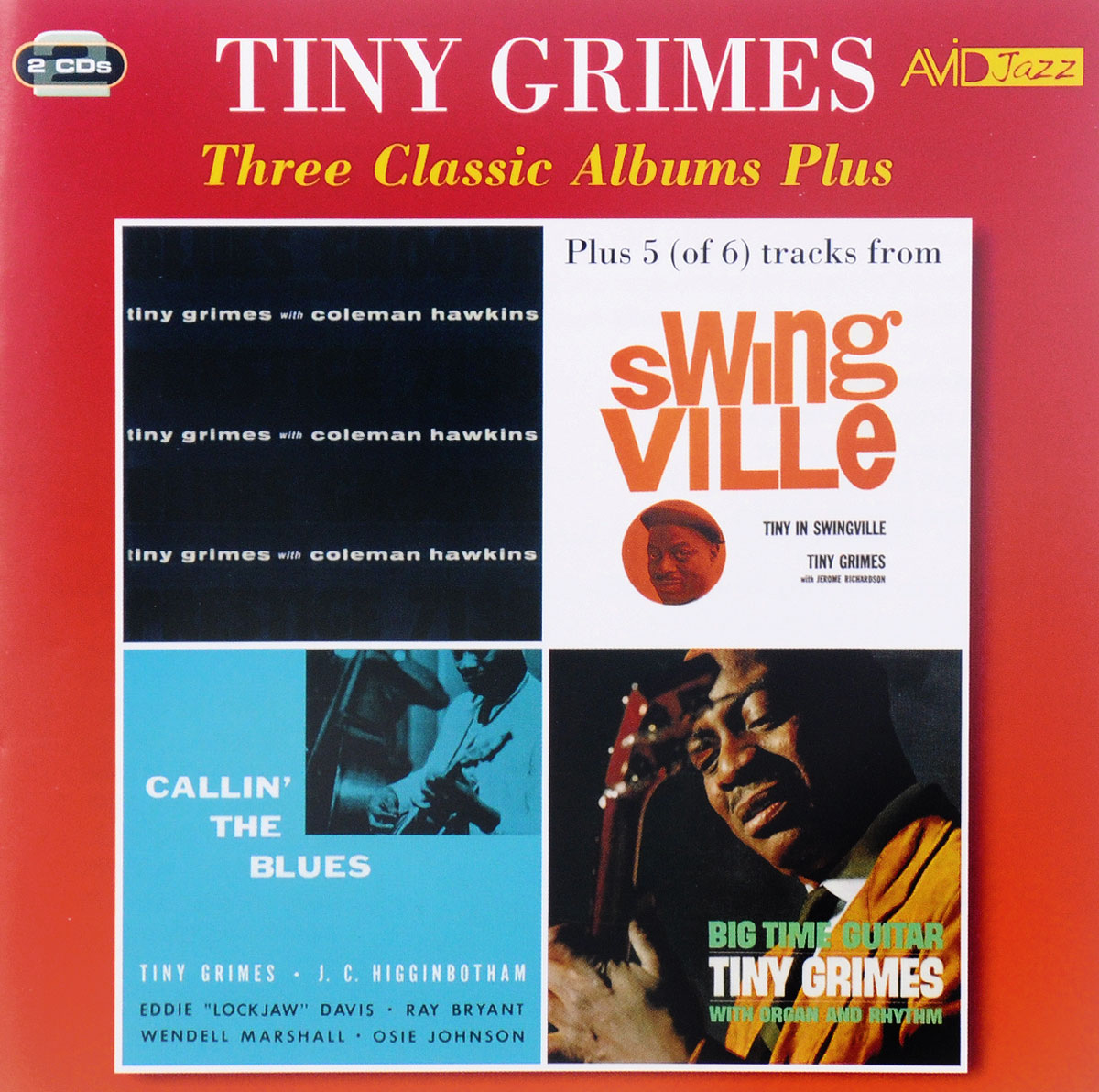 Тини Граймс Avid Jazz. Tiny Grimes. Three Classic Albums (2 CD) avid dolby surround tools