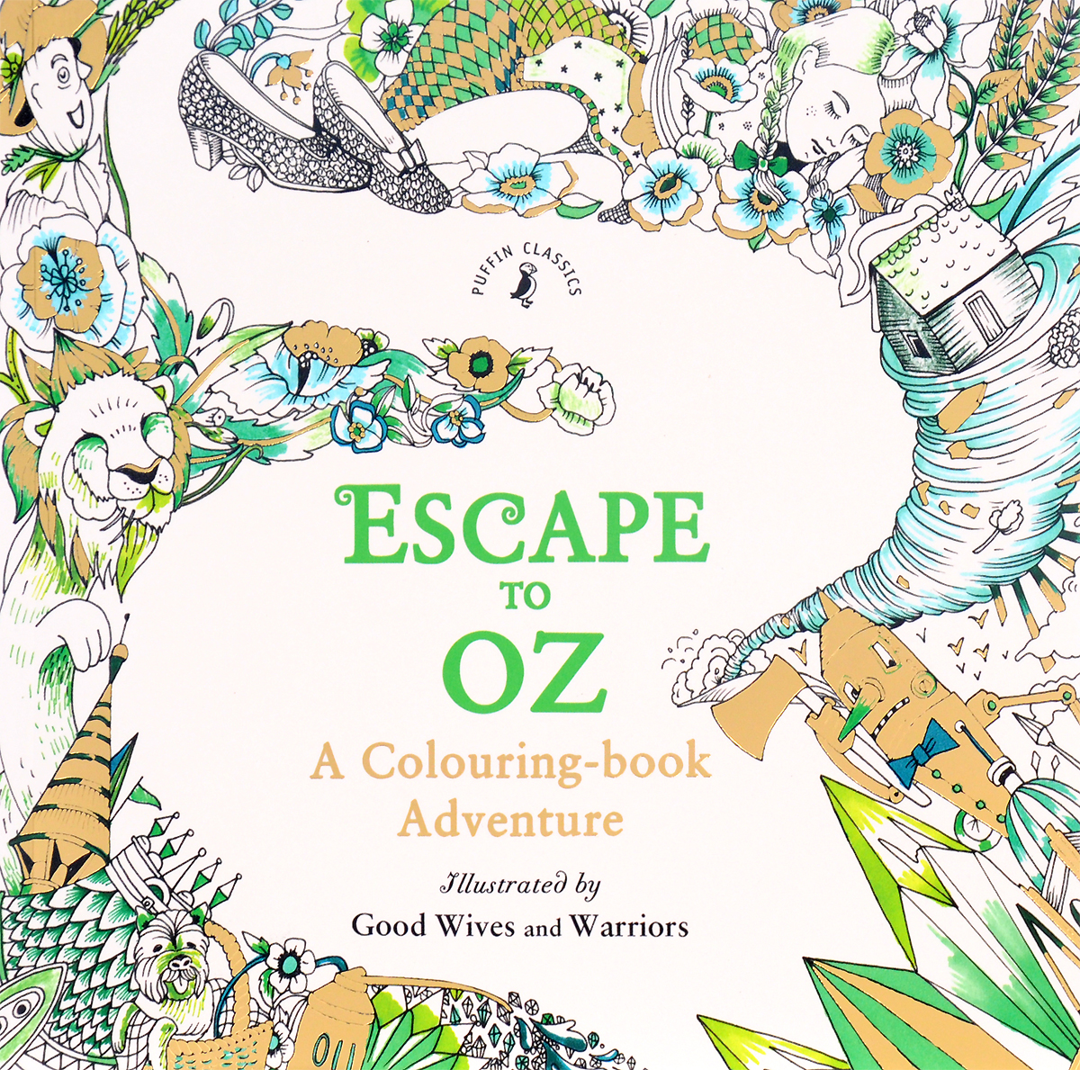 Escape to Oz: A Colouring Book Adventure die hard the official colouring book
