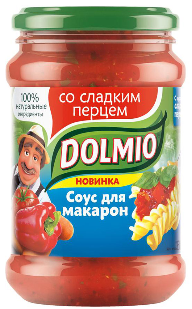Dolmio со сладким перцем, соус для макарон, 350 г