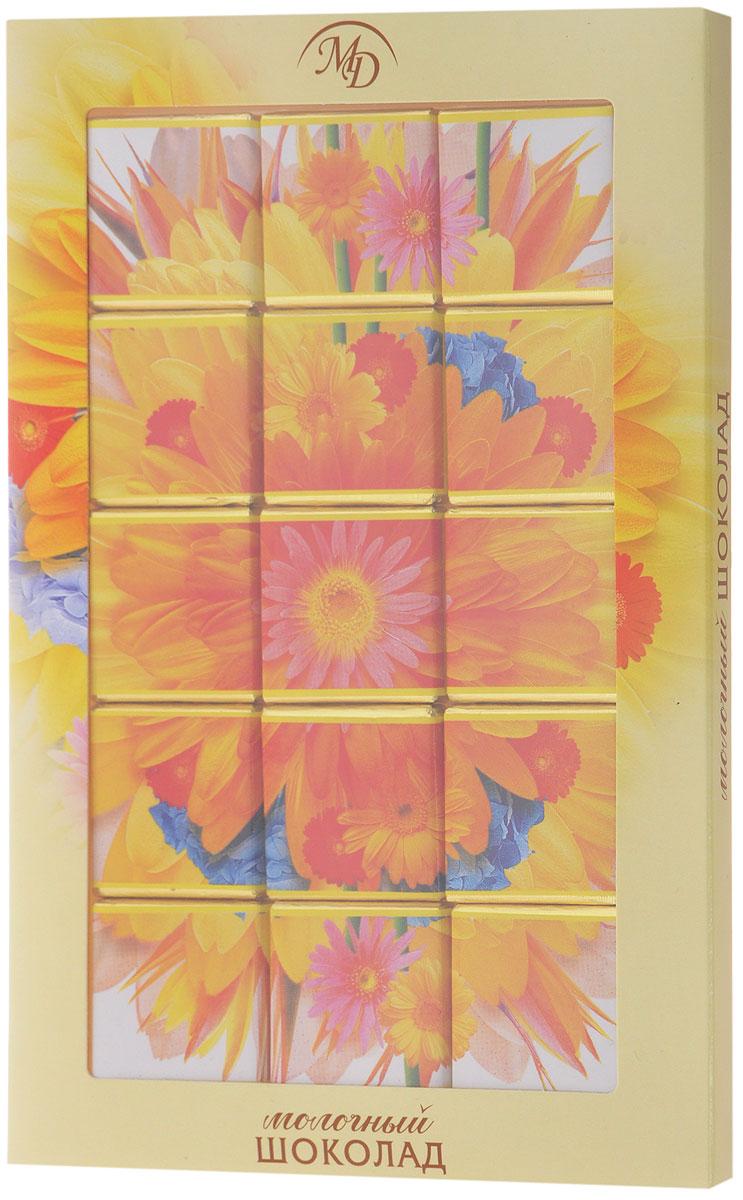 Монетный двор Цветы Герберы набор молочного шоколада, 75 г (пазл) kinder mini mix подарочный набор 106 5 г