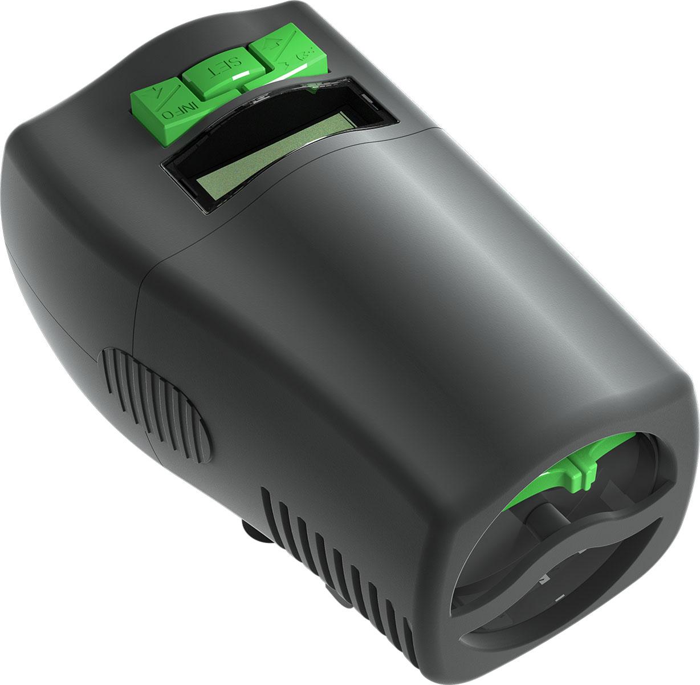 Автоматическая кормушка Tetra myFeeder для аквариумов, с дисплеем260085Автоматическая кормушка Tetra myFeeder с дисплеем предназначена для сухого корма для аквариумных рыб. Такаякормушка позволит кормить ваших рыб, когда вы заняты или уехали в отпуск.Обладает уникальной технологией тройной защиты:Защита от светаЗащита от влагиЗащита от воздуха- до 3 кормлений в день с возможностью установки различного количества корма- возможность покормить при помощи нажатия кнопки- подходит для большинства типов корма- цифровой дисплей- универсальная установка на различных типах аквариумовОбъём кормового отсека - 100 мл.Включает батарейки Varta.