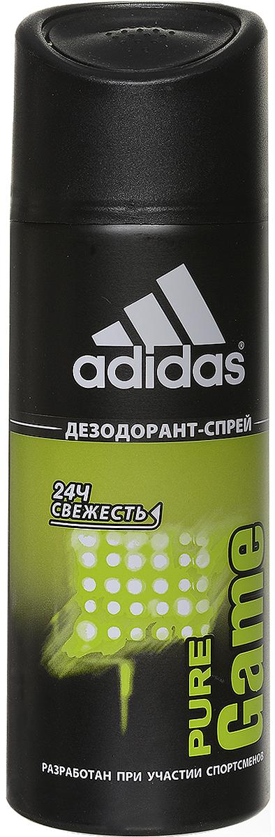 Adidas Pure Game. Дезодорант, 150 мл340009253354Дезодорант Adidas Pure Game подарит чувство свежести на весь день, обеспечит комфорт и длительную защиту от неприятного запаха на 24 часа. Не раздражает кожу, оказывает мягкое антибактериальное действие. Идеально подходит для чувствительной кожи.Характеристики: Объем: 150 мл. Марка Adidas - это олицетворение настоящей страсти к спорту. С моментаоснования в 1949 г., ее философия никогда не менялась, а поиски к совершенствуне заканчивались. Цель - работа с атлетами на всех стадиях соревнований для разработки самого лучшего оборудования, экипировки спортсменовдля достижения оптимальных результатовпосредством изучения работы человеческого тела.Adidas - это жажда жизни. Три знаменитые полоски вышли за пределы спортивного назначения и вторглись вповседневную жизнь. Линия средств по уходу Adidasдавно переняла спортивный опыт компании Adidas, добавив его к мастерству в области личной гигиены ведущей парфюмерно-косметической компании Coty.Товар сертифицирован.
