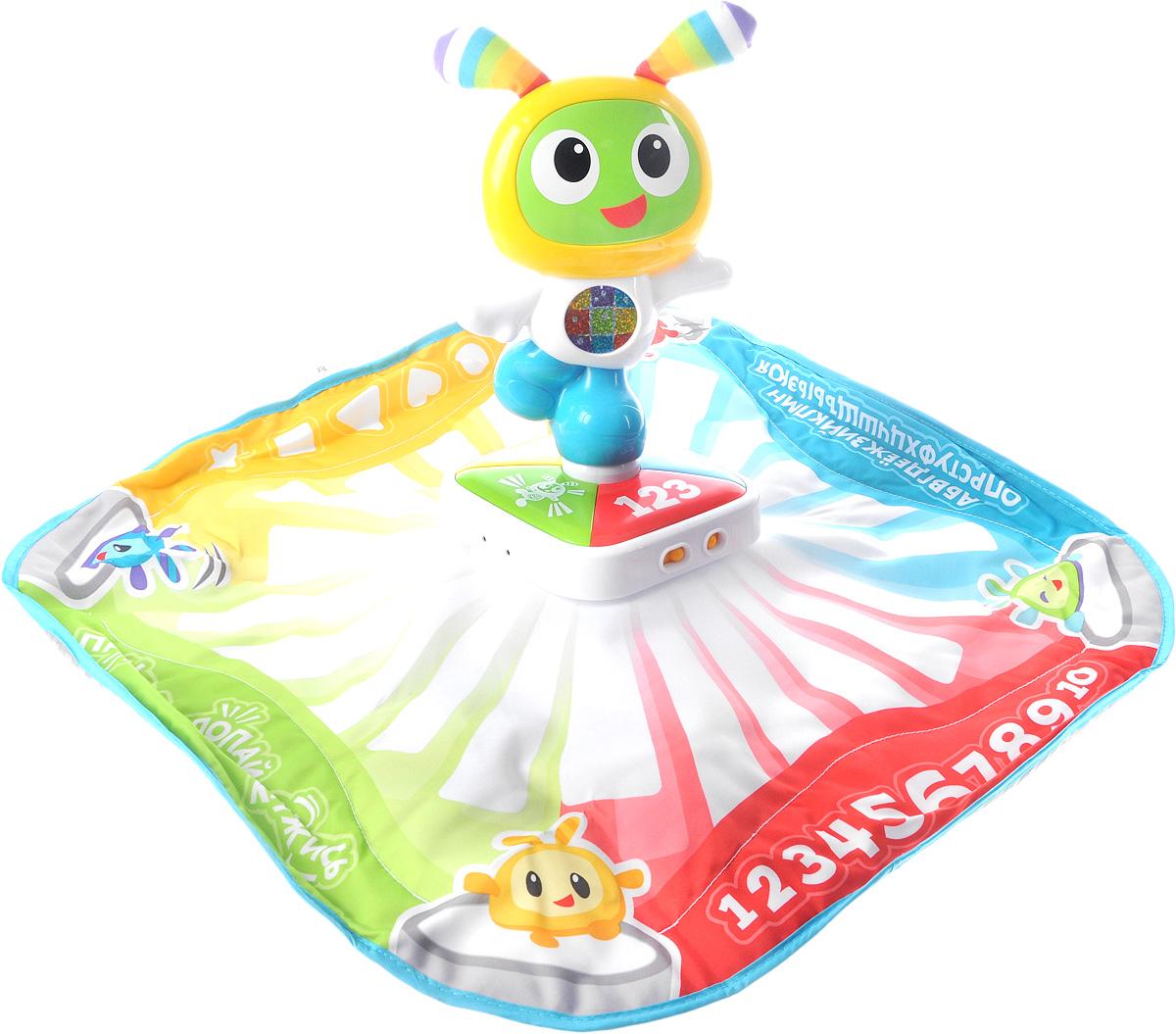 Fisher-Price Развивающий танцевальный коврик Робота Бибо, Mattel