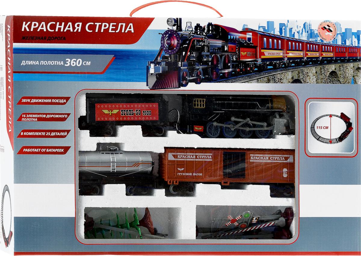 Играем вместе Железная дорога Красная стрела B271381-R железная дорога пауэртрейнс купить