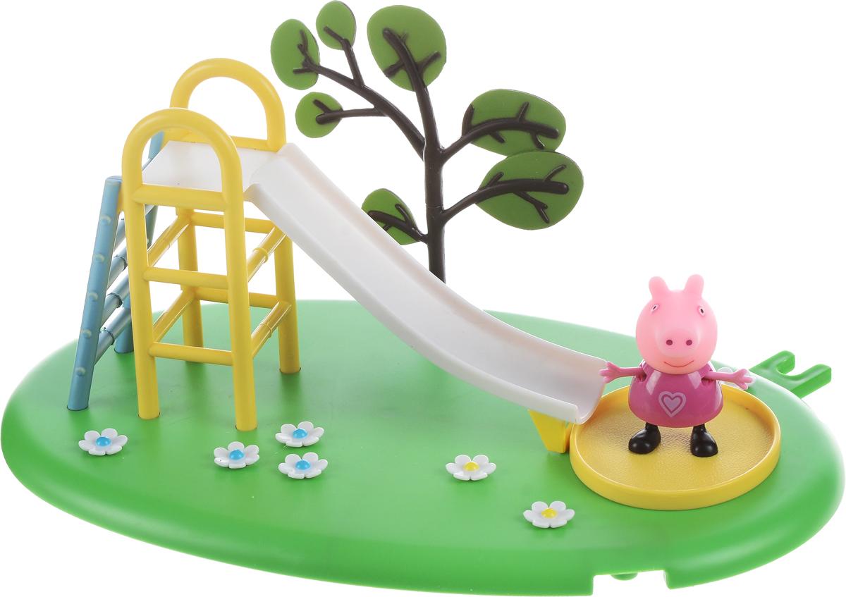 Peppa Pig Игровой набор Горка Пеппы peppa pig игровой набор кухня пеппы