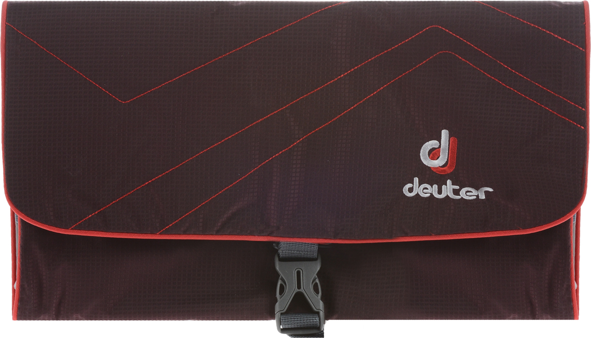 Косметичка Deuter Wash Bag II, цвет: фиолетовый, красный косметичка deuter accessoires wash room blackberry dresscode