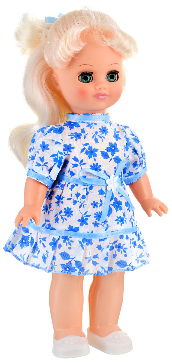 Весна Кукла озвученная Наталья цвет одежды голубой белый
