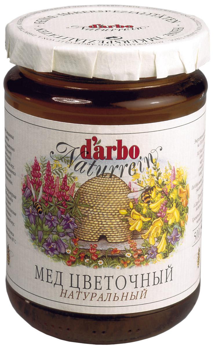 Darbo мед цветочный, 500 г22313Мед, полученный из нектара полевых цветов, обладает необыкновенно тонкимароматом, мягким вкусом и золотистой прозрачностью. Низкотемпературная обработка меда позволяет сохранить все полезныевещества и неповторимый вкус. Натуральное лакомство.