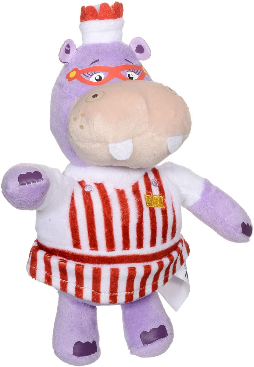 Мульти-Пульти Мягкая озвученная игрушка Бегемотиха Хэлли 18 см мульти пульти мягкая игрушка принцесса луна 18 см со звуком my little pony мульти пульти
