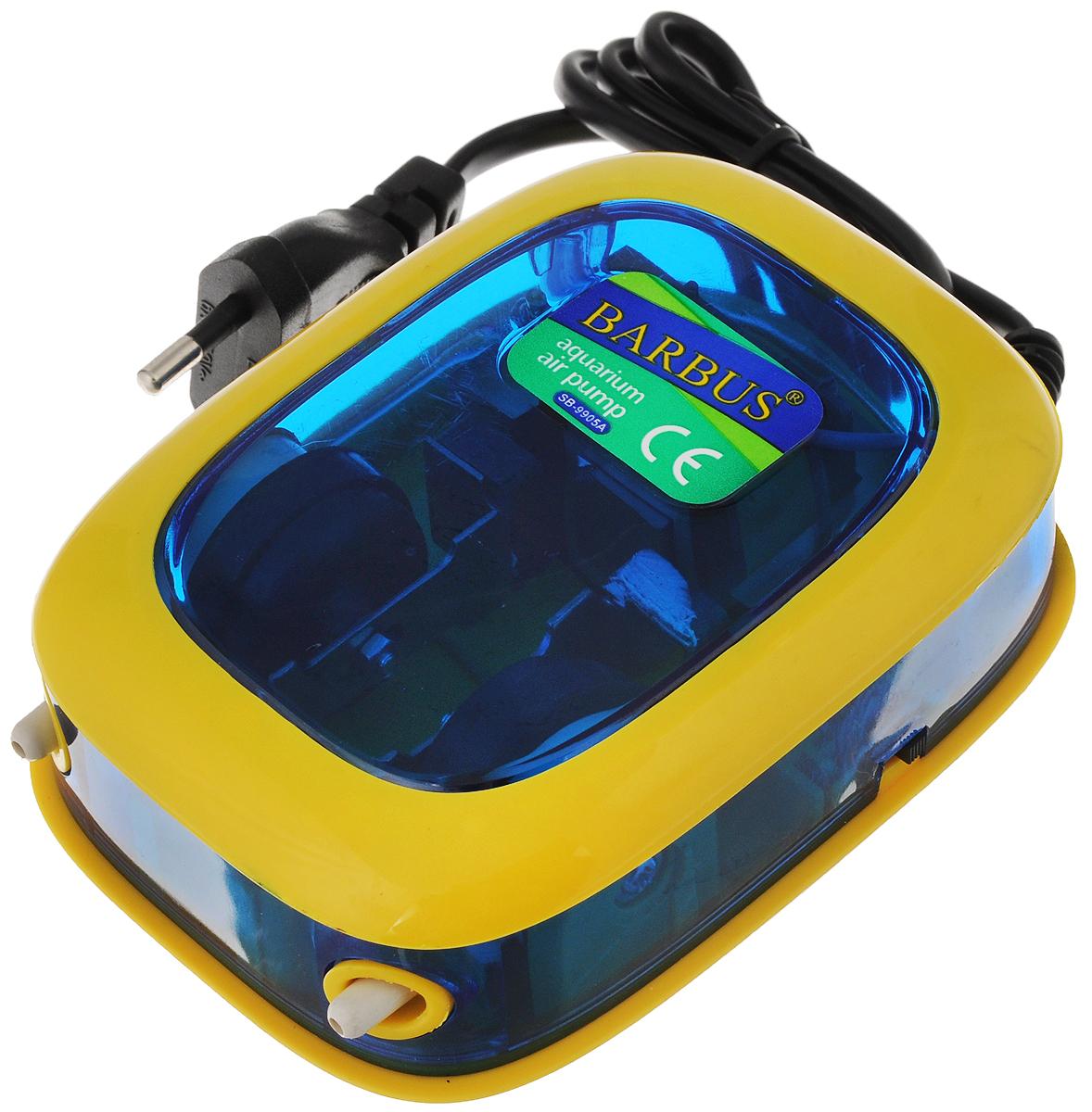Компрессор воздушный аквариумный