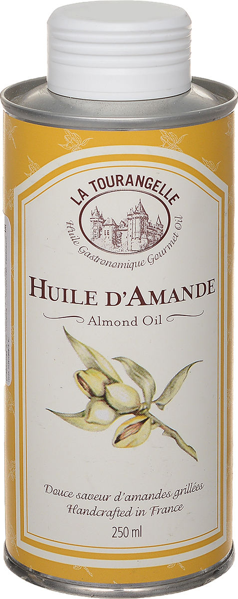 La Tourangelle Almond Oil масло миндальное нерафинированное, 250 мл3245270000559Только лучшие ядра сладкого миндаля отбираются для получения ароматного, нежного и вкусного, идеального для заправки салатов, холодных закусок, готовых блюд масла La Tourangelle Almond Oil.Миндаль не случайно с давних времен называют орехом красоты.