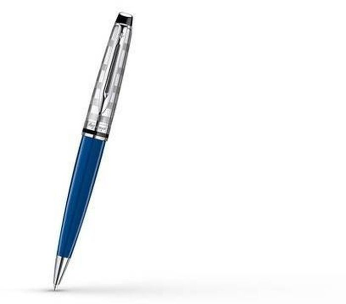 Waterman Ручка шариковая Expert Deluxe Blue CT синяя корпус синий waterman шариковая ручка expert 3 precious ct black waterman s0963360