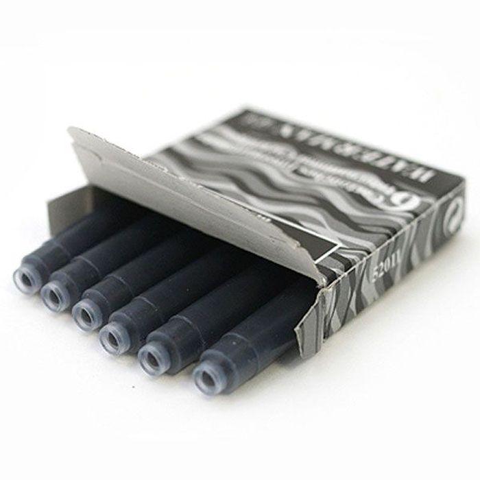 Waterman Катридж для ручки Short цвет черный 6 шт ручки waterman s0920470