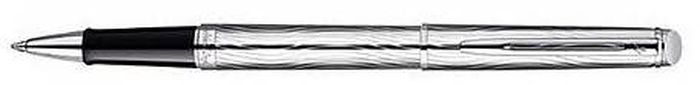 Waterman Ручка роллер Hemisphere Deluxe Metal CT черная корпус серебро ручки waterman роллер hemisphere deluxe metal ct