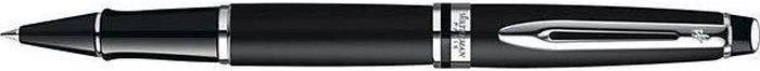 Waterman Ручка роллер Expert Matte Black Сt черная корпус черныйWAT-S0951880Материал корпуса: Латунь Покрытие корпуса: Лак Материал отделки деталей корпуса: Палладий Способ подачи стержня: С колпачком. Черные чернила F.