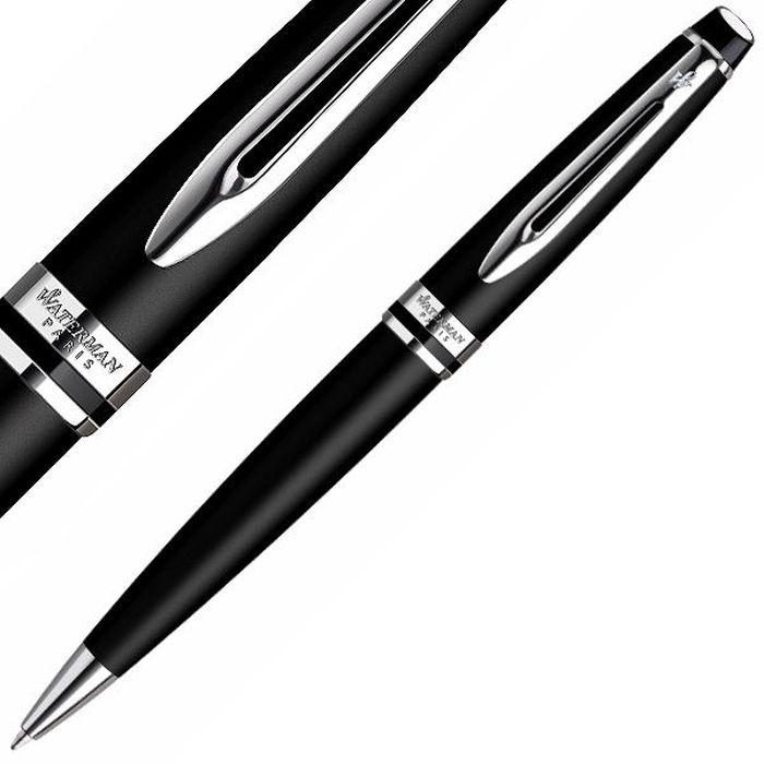 Waterman Ручка шариковая Expert Matte Black CT синяя корпус черный waterman шариковая ручка expert 3 precious ct black waterman s0963360
