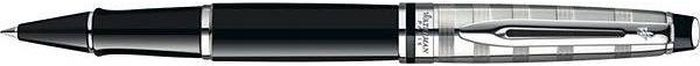 Waterman Ручка роллер Expert Deluxe Black CT черная корпус черный